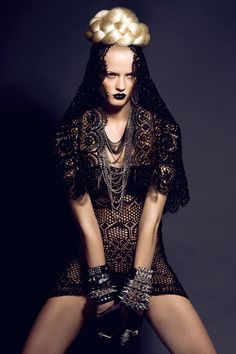 Natalia by Lina Tesch, via Behance