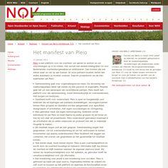 Even bijpraten over Pleio Columns, Blog, Seeds, Blogging