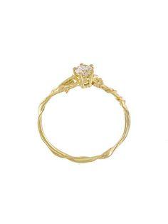 c1023478f9f Alex Monroe Anel de ouro 18k com diamantes Anel De 15anos