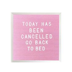 """10"""" x 10"""" LETTER BOARD - PINK"""