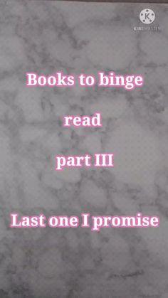 books to binge