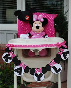 My Sweet Celebrations: Minnie Mouse 1st Birthday