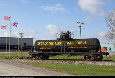 RailPictures.Net Photo: Union Tank Car Company UTLX Tank Car at Marion, Ohio by Michael Harding