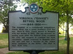 A State marker recognizing the contributions of a Confederate spy.
