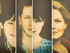 Henry, Charming, Snow and Emma