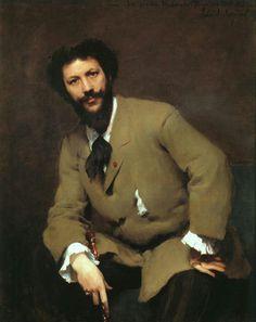 John Singer Sargent's portrait of Carolus Duran