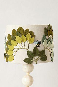 Honeybee Hideout Lamp Shade - anthropologie.com