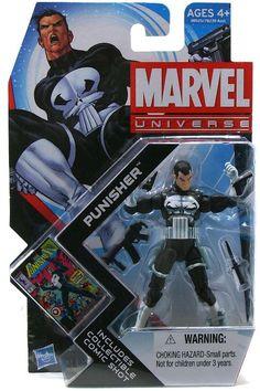 Marvel Universe 4 - Punisher - Action Figure