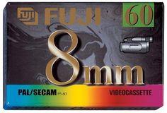 FUJI 8mm VIDEOCASSETTE 60 PAL/SECAM by Fuji. $17.49