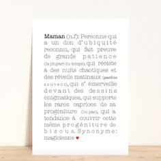 maman, carte, carte postale, déco, décoration, maison, babayaga, magazine, webzine 7 Layer Bean Dip, Layered Bean Dip, Family Rules, Life Inspiration, Quotable Quotes, Diy Projects To Try, Cool Words, Diy Design, Letter Board