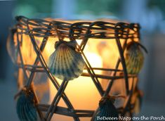 Decorating Nautical Beach Decor | An easy way to bring a little summer beach fun to your home.