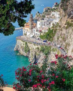 "angel-kiyoss: ""Italy 🇮🇹 "" Places to visit l Travel destination l Tourism Beautiful Places To Visit, Wonderful Places, Beautiful World, Places Around The World, Travel Around The World, Around The Worlds, Italy Vacation, Italy Travel, Atrani Italy"