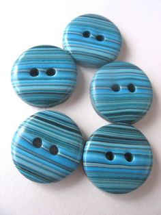 fimo/polymer clay buttons