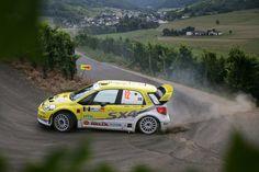 So awesome. WRC German Rally 2008 | Per-Gunnar Andersson | Suzuki SX4