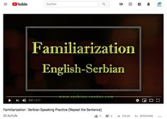 English-Serbian speech exercises in Latin and Cyrillic script: Do You Work, 28 Years Old, Serbian, Sentences, Repeat, Script, Youtube, Exercises, Names