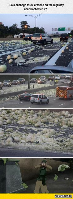 Oh No, My Cabbages!