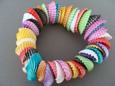 Schelpen armband in multicolor NICE!
