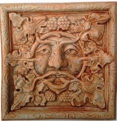 Image result for green man tile