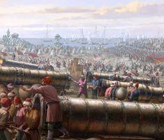 """Conquest of Constantinople """"Great Bombards"""" / İstanbul'un fethi Fatih Sultan Mehmet'in döktürdüğü """"Şahi"""" adı verilen dev toplar"""