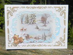 made by Jane Middleton using  Spellbinders Nestabilities Card Creator: 5x7…