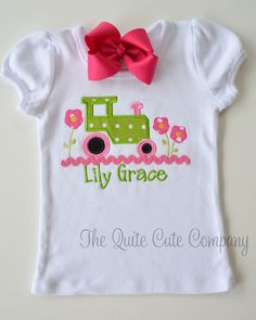 Adorable Custom Boutique Monogrammed Girls by TheQuiteCuteCompany, 25