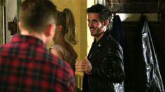 "David, Hook and Emma - 4*4 ""The Apprentice."" #CaptainSwan #CaptainCharming"