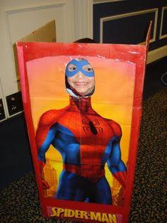 DIY Super Hero Party-Simple & EZ photo booth