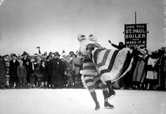 Pairs Figure Skating, Winter Carnival, St. Paul, 1917