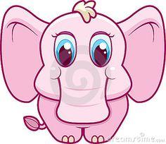 cartoon baby animals | Baby Elephant Royalty Free Stock Image - Image: 7864486