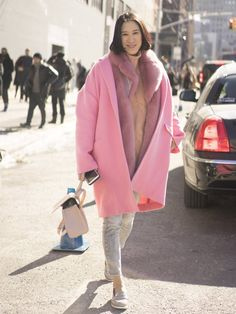 Pin for Later: The Best Street Style From NYFW Day 7 NYFW Day Two Eva Chen