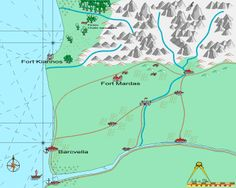 Map - Conan - North of Zingara region Pen And Paper, Video Game, Gaming, Rpg, Videogames, Games, Video Games, Game