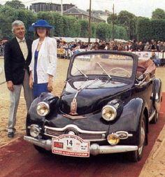 Panhard Dyna X86 cabrio