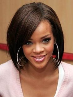 Bob Hairstyles for African American Womens ~ http://www.haircutsforwomen.biz/african-american-bob-hairstyles-for-women/