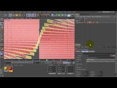 Tutorial: Span a Texture Across Folding Splines in C4D - YouTube