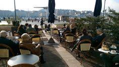 #Restaurant de l'hôtel Bellevue et La Caravelle sur le vieux-port de Marseille