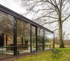 Glass House, New Canaan (Connecticut, EEUU) | Philip Johnson | 1949