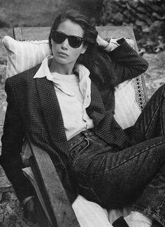 """80s-90s-supermodels: """" Calvin Klein 1989 Model : Christy Turlington """""""