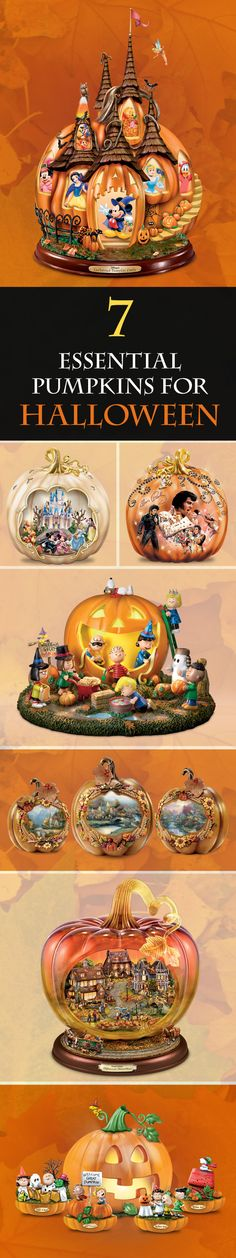 Looking for the perfect Halloween centerpiece? Skip the patch and pick one of our unique pumpkin sculptures to match your passion, style and Halloween home.