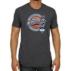 UConn Huskies 2014 NCAA Men's Basketball National Champions Pro Ball T-Shirt - Gray