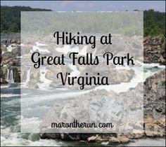 Hiking Great Falls VA marontherun.com