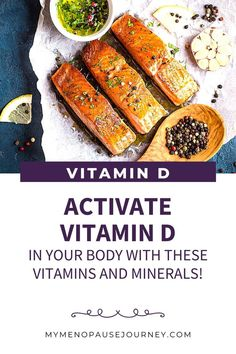 Boost Vitamin D   One of the best ways to increase your absorption of Vitamin D is to match up vitamin D with other supporting vitamins and minerals! How to Increase Vitamin D Absorption // Factors that Affect Vitamin D Absorption // Maximize Vitamin D Production #vitamind #vitamindfoods #vitaminddeficiency #lowvitamind #vitamindeficiencysymptoms #vitamindbenefits #vitamindrichfoods Organic Supplements, Organic Vitamins, Nutritional Supplements, Vitamin D Foods, Vitamin D2, Menopause Diet, Menopause Relief, Healthy Habits, Healthy Recipes