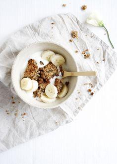 Bananabread Granola #banana #granola #snacks