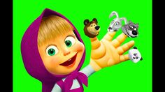 Masha and the Bear Finger Family Nursery Rhyme Song | Top 10 Finger Family Songs Collection