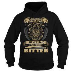 (New Tshirt Design) BITTER Last Name Surname T-Shirt [Tshirt design] Hoodies, Funny Tee Shirts
