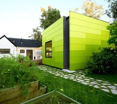 Beautiful, Green Houses: Of All Shades