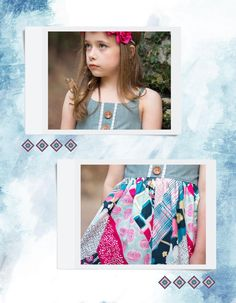 #ClippedOnIssuu from Dare by Pat Bravo; Art Gallery Fabrics LookBook; Made by Because of Brenna