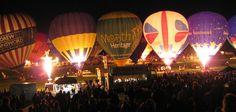 Balloon Fiesta,  Ashton Court,  Bristol, England, UK