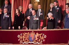 The Duchess of Cambridge joined the Queen and a host of other royals for the annual Festival of Remembrance at the Royal Albert Hall. ...