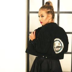 #OTFM - vintage og redesign på nett LA Gear denim jacket