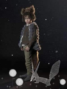 Le petit prince | bbmundo / diciembre, 2012 / Fotografía: Olga Laris / Ilustración: Evelyn Alarcón / Coordinación de moda: Victoria Papuchi / Maquillaje: Sophie Cruegue / Peinado: Sonia Mendoza